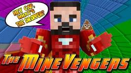 Minecraft MineVengers - THE DROPPER 2 - IRON MANS GO!!