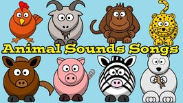 Animal Sounds Songs Collection For Children