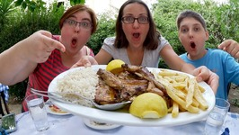Greek Food On Greek Soil-Gay Family Mukbang- Eating Show