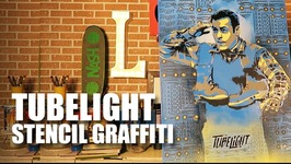 Tubelight - Stencil Graffiti  Salman Khan