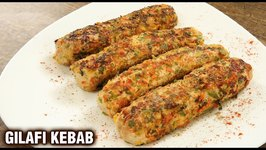 Gilafi Chicken Kebab / How To Make Chicken Gilafi Kebab / Murg Gilafi Kabab