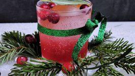 Cranberry, Orange And Clove Cocktail