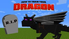 Minecraft - HOW TO TRAIN YOUR DRAGON - A Dragon Dies?!?! 30