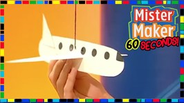 Slot Plane - How To Make In 60 Seconds - Mister Maker