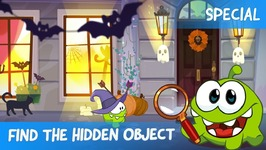 Find the Hidden Object Ep16 - Om Nom Stories- Halloween Special