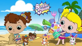 Life Is Just Beachy - Bottle Squad Superhero Stories - Kids Video - Baby Cartoons - Kids Adventure