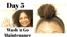 Wash N Go Maintenance - Luv Naturals - Natural Hair