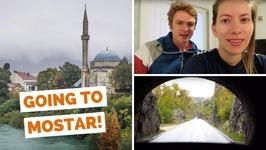 Hvar ferry to Split, Croatia and bus ride to Mostar, Bosnia and Herzegovina travel vlog