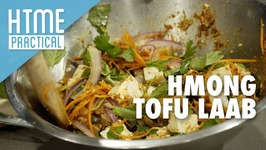Hmong Tofu Laab  HTME Practical