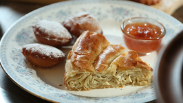 Bulgarian Breakfast - How To Make Banitsa And Mekitsi - How To Make Phyllo Pastry