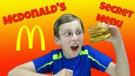 Mcdonalds Secret Menu Taste Test Food Review