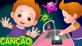 Lave, lave, lave, lave suas mãos - Canções Infantis Em Português