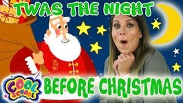 Twas the Night Before Christmas - Chapter 1 - ?Story Time with Ms. Booksy - Cartoons for Kids