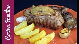 Solomillo de ternera con foie- Carne asada paso a paso