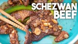 Schezwan Beef - Indo Chinese Recipe
