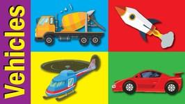 Vehicles And Transportation Vocabulary