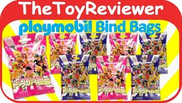 Playmobil New Series 11 Blind Bags Blue Pink 8 Mystery Packs Unboxing