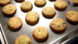Eggless Saffron Cookies Divine Taste With Anushruti