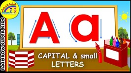 How To Write Capital And Small Letters - Alphabets With Phonics - Uppercase And Lowercase letters