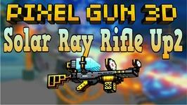 Pixel Gun 3D - Solar Ray Rifle Up2 - Review - Gameplay
