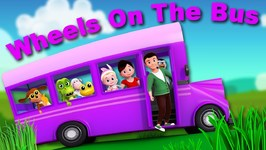 Wheels On The Bus - Junior Squad Videos - Nursery Rhymes For Kids