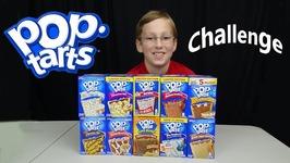 Pop Tart Challenge Taste Test