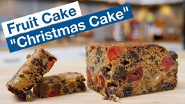 Love It Or Hate It - Dark Christmas Cake - Fruit Cake