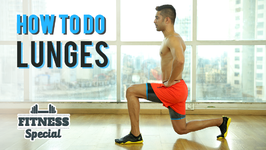 How To Do A Lunge Fitness for Beginners - Special Workout
