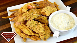 Easy Fried Fish And Shrimp With Homemade Tartat Sauce