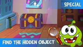Find the Hidden Object Ep 8 - Om Nom Stories- The Chest