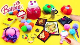 How To Make Easy DIY Miniatures - 10 Easy DIY Miniature Doll Crafts - Doll Accessories