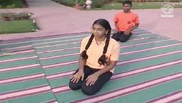 Yoga Exercise For Beginners In Tamil - Vajra Asana - Ankle Posture