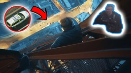 Blackpool Tower - The Climb down - Already BANNED for life
