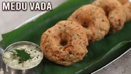 Crispy Medu Vada  How To Make Medu Vada  South Indian Breakfast Recipe  Philips Air Fryer  Ruchi
