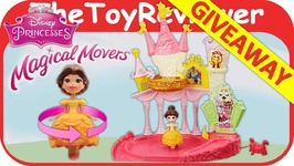 Belle Magical Movers Dance n Twirl Ballroom Playset Giveaway Unboxing Toy Review