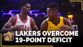 Lakers Overcome 19-Point Deficit In Win Over Bulls