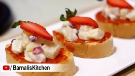 Bread Bites - Bread Bruschetta Bites - Chatpata Bread Bites - Breakfast Recipe