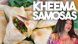 How to make Kheema Samosas - Ramadan And Iftar Special Meat Samosas in a Crispy Wrapper