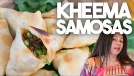 How to make Kheema Samosas - Ramadan And Iftar Special Meat Samosas in a Crispy Wrapper