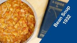 1932 Economy Bean Soup