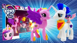 My Little Pony Princess Cadance And Shining Armor Family Moments with Flurry Heart Review