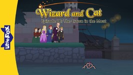 Wizard and Cat 10 - The Crown in the Moat - Fantasy - Animated Stories for Kids
