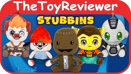The Stubbins Plush Playstation Gear Official Stuffed Animal Game Unboxing Toy Review