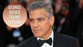 George Clooney Pens Poem In Support Of NFL Players