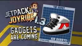 Jetpack Joyride 1.3 - Gadgets Update  Air Barrys