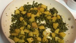 Green Beans And Potato (Aloo Faliyan) Sabzi Recipe