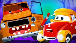 Happy Halloween - Super Car Royce - Car Cartoons For Babies - Kids Channel