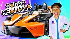 Fastest Car In The World - Scrap Mechanic No.2