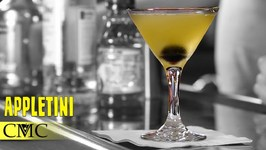 How To Make The Apple Martini / Appletini Vodka Cocktail