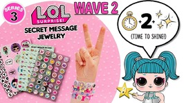 LOL SURPRISE SECRET MESSAGE JEWELRY - Play the LOL Dolls DECODER GAME
